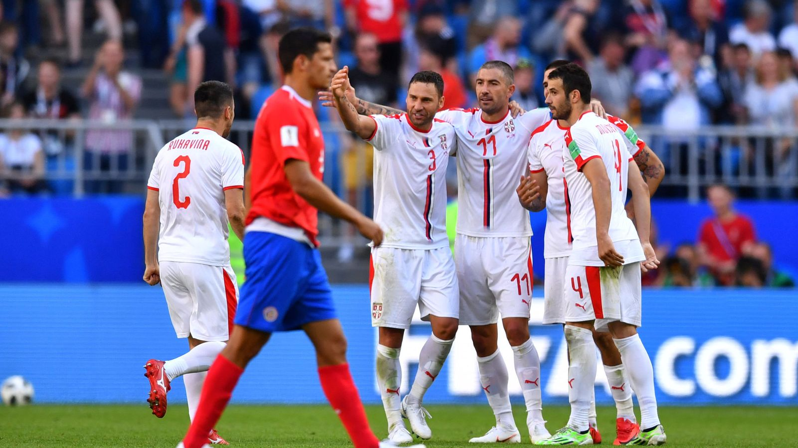 Foto: World cup - group e - costa rica vs serbia
