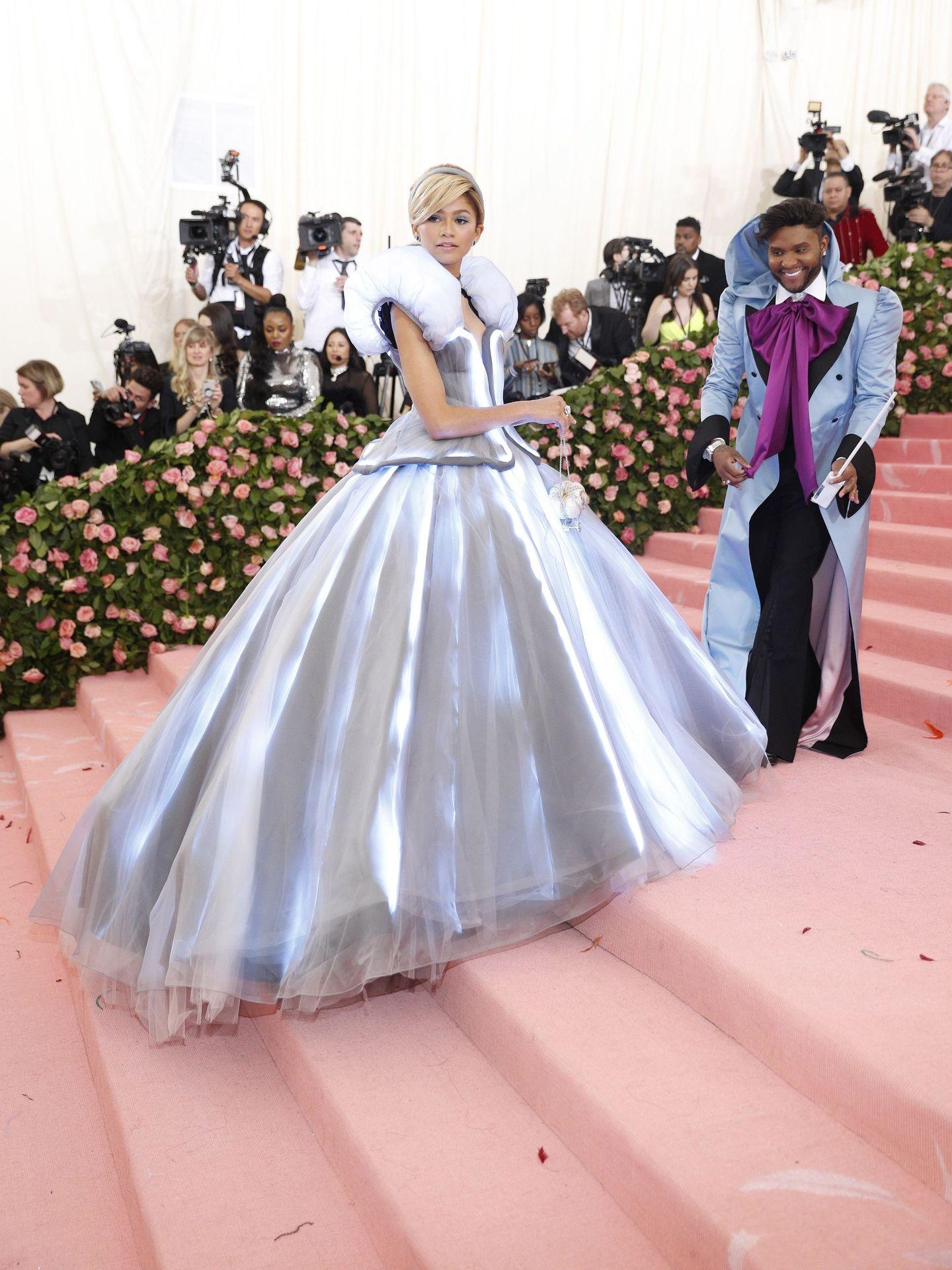Zendaya, en la alfombra roja del Met Gala 2019. (Reuters)