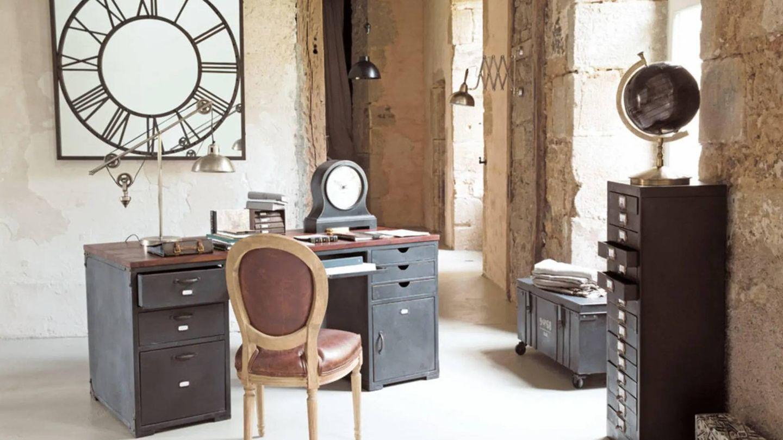 Escritorios de trabajo estilosos de Maisons du Monde. (Cortesía)