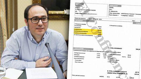 Pluses secretos en el aparato de Podemos: 7.300 euros al año para eludir el tope salarial