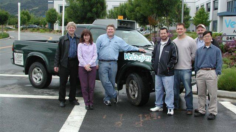 El equipo DAD en el DARPA Grand Challenge de 2004 (DARPA)