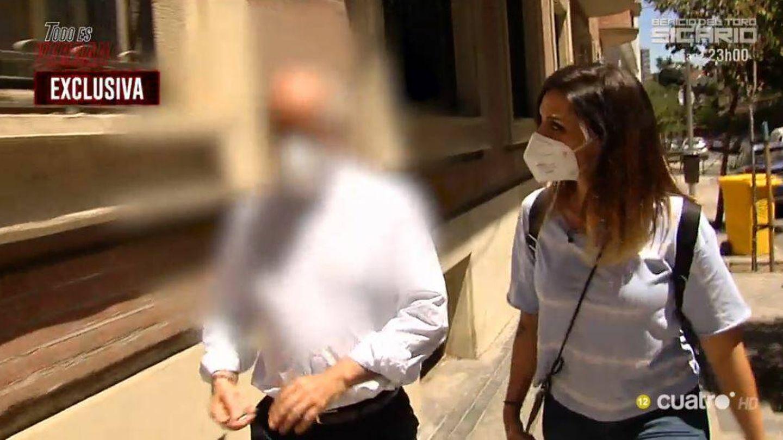 El presunto notario de la trama de José Luis Moreno. (Mediaset España)