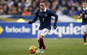 Ribéry deja la selección de Francia y hace sitio a grandes jugadores