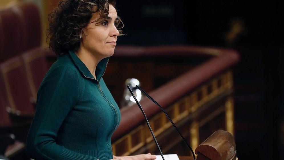 Foto: Dolors Montserrat, en el Congreso. (EFE)