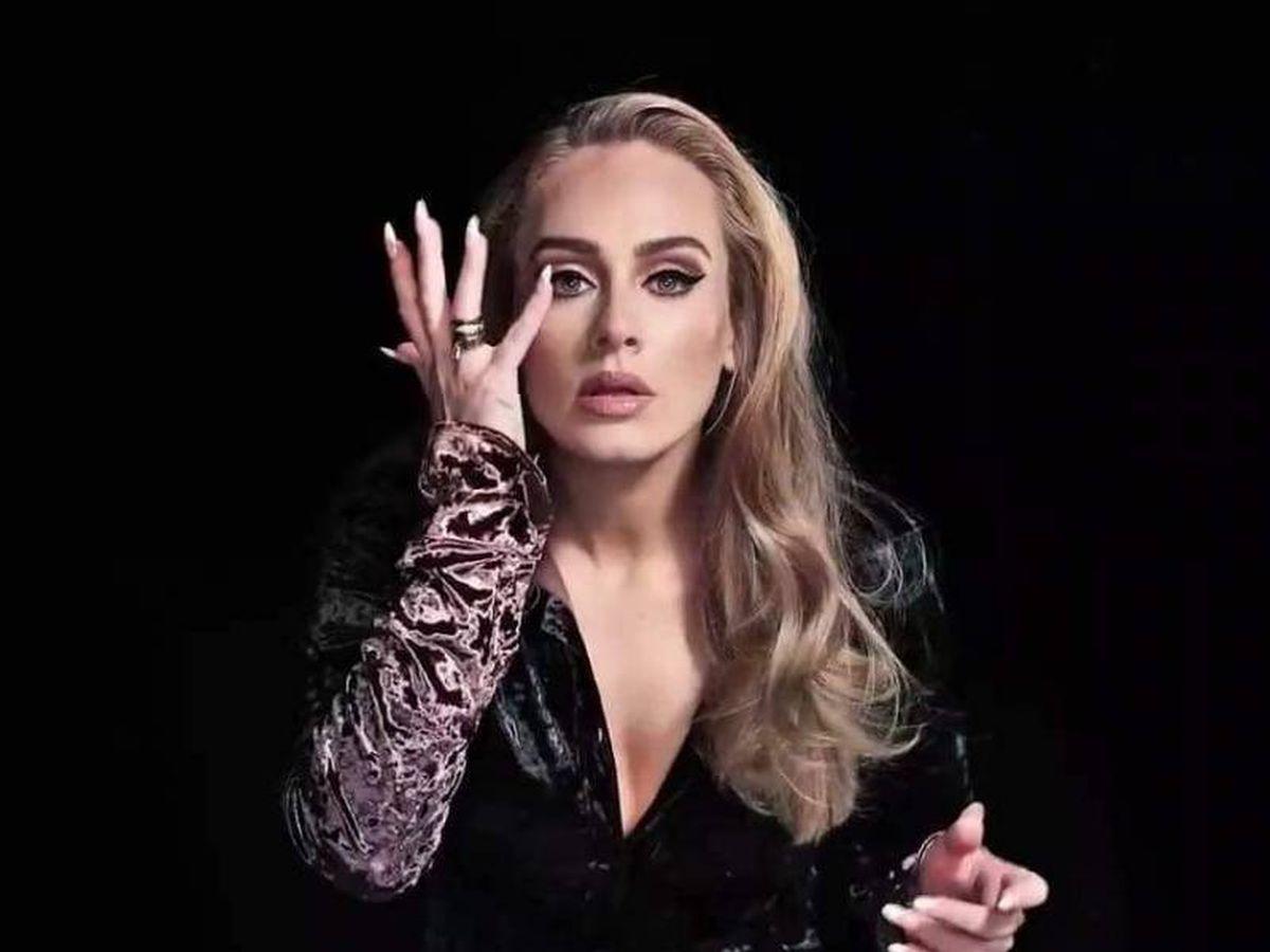 Foto: Adele. (Twitter SNL)