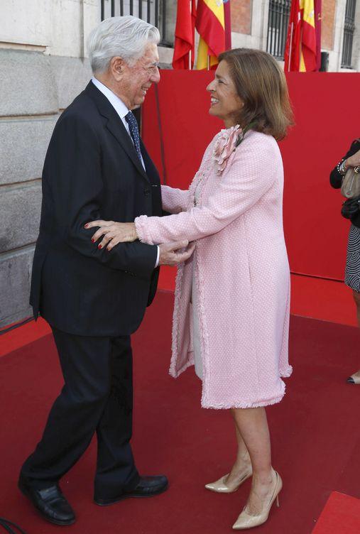 Foto: Ana Botella y Mario Vargas Llosa en una imagen de archivo (Gtres)