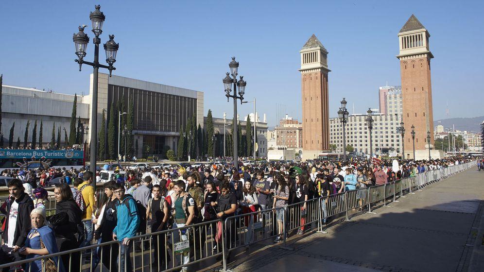 Foto: La fira de Barcelona durante un evento. (EFE)