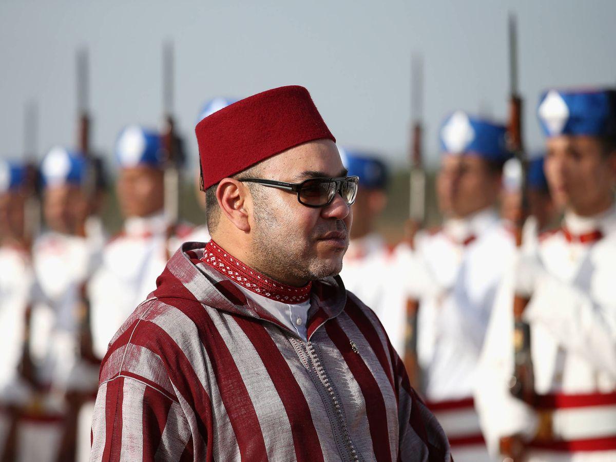 Foto: Mohamed VI, en una imagen de archivo. (Getty)