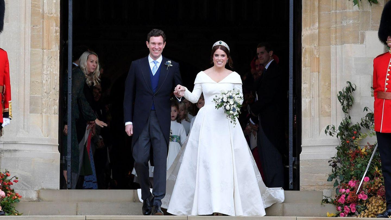 Eugenia y Jack Brooksbank. (Reuters)