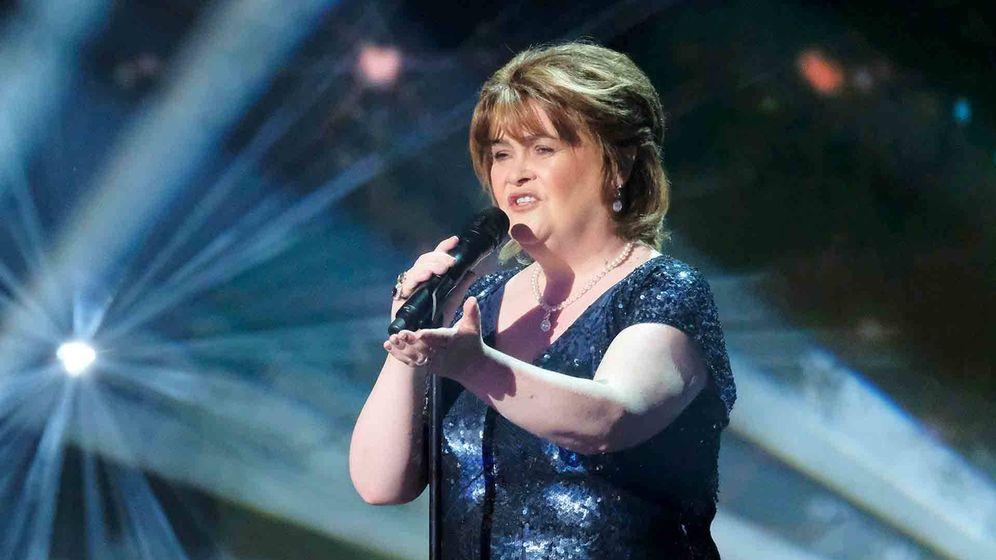 Foto: Susan Boyle, durante su actuación en 'America's Got Talent: The Champions'. (NBC)