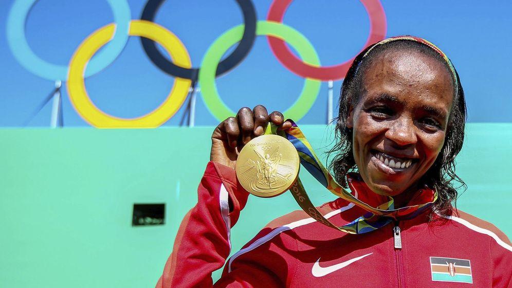 Foto: Sumgong, con la medalla de oro de Río. (EFE)