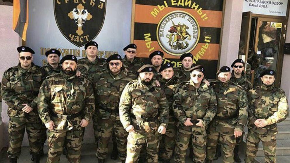Paramilitares serbobosnios entrenados por Rusia, el fenómeno que inquieta a Europa