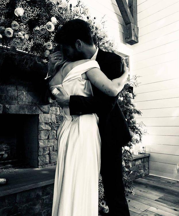 Foto:  Miley y Liam, en una imagen de su Instagram.