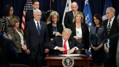 Trump no solo ordena construir el muro: carga contra las 'ciudades santuario'