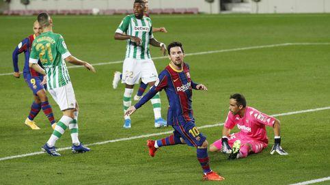 Messi saca al Barça del lío en el que Griezmann le metió frente al Betis (5-2)