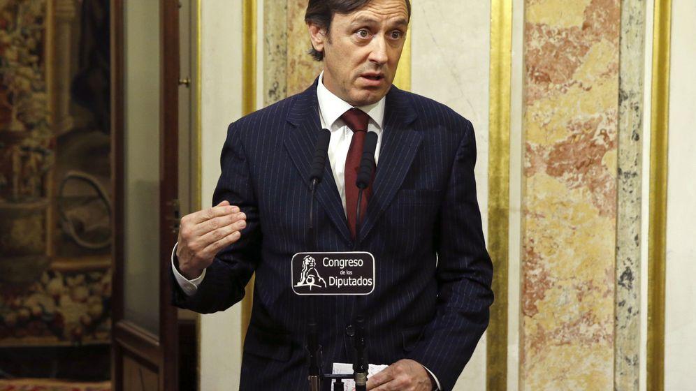 Foto: El portavoz del PP en el Congreso, Rafael Hernando. (EFE)