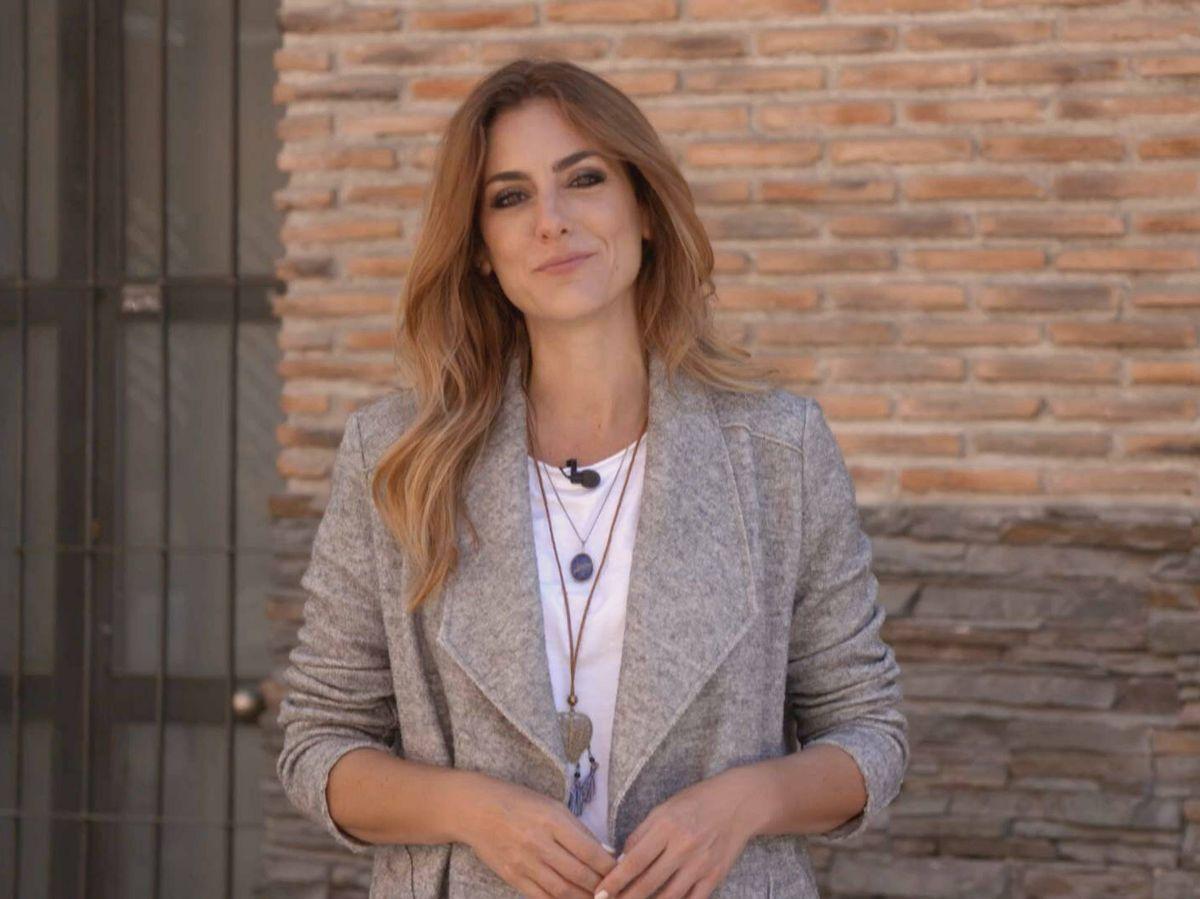 Foto: Verónica Dulanto en el programa 'La comunidad'. (Telemadrid)