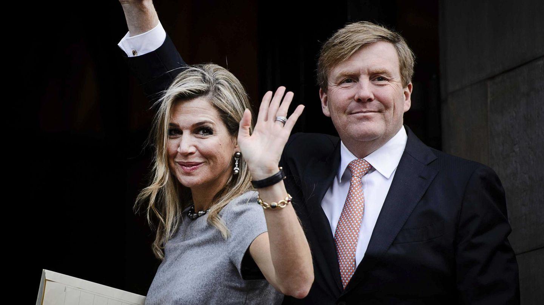Máxima de Holanda y el rey Guillermo Alejandro, en 2015. (EFE)