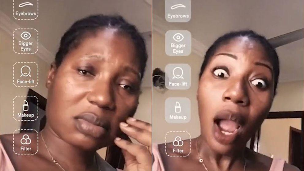 Cómo cambiar tu cara por completo en solo 15 segundos con los filtros de Tik Tok