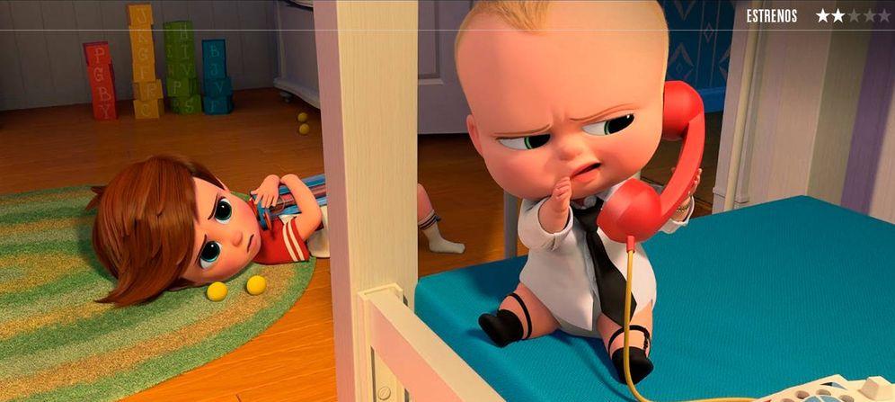 Foto: Fotograma de 'El bebé jefazo'.