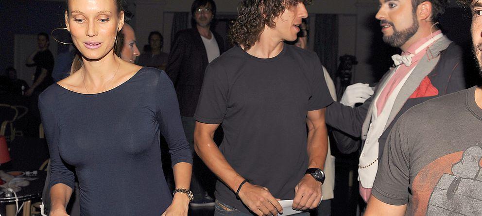 Vanessa Lorenzo y Carles Puyol ya son padres de una niña
