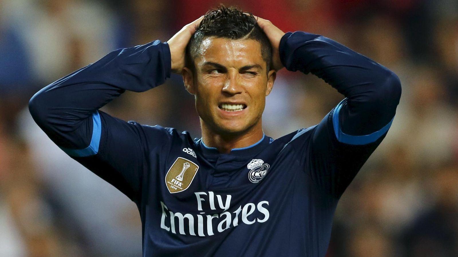 Foto: Cristiano Ronaldo firmó en el Sánchez Pizjuán otro decepcionante partido. (Reuters)