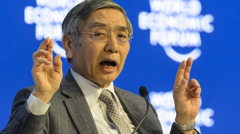 Foto: Haruhiko Kuroda, gobernador del Banco de Japón (Efe)