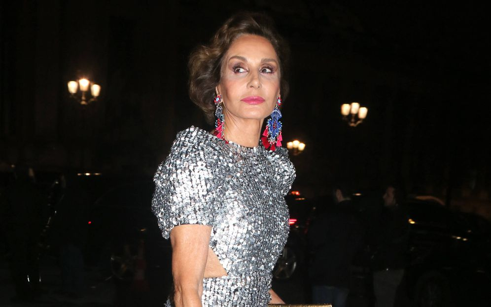 Foto: Naty Abascal en la Semana de la Moda de París. (Gtres)
