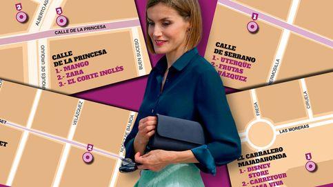 Letizia y su ruta de compras por Madrid: del barrio de Salamanca a Majadahonda