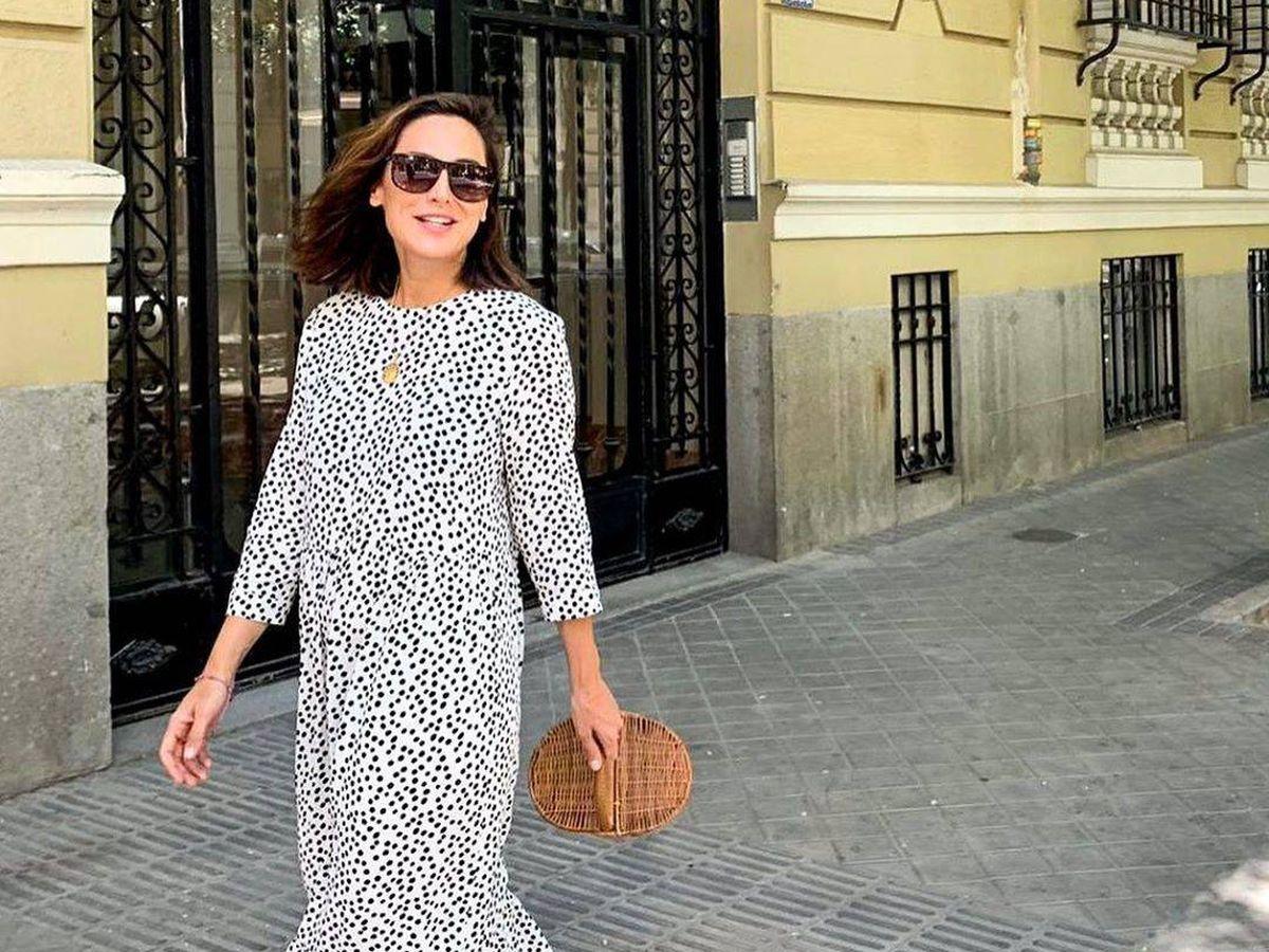Foto: El vestido de lunares de Zara que Tamara Falcó se verá tentada a lucir en otoño. (Instagram, @tamara_falco)