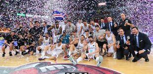 Post de El Real Madrid recupera el título de la ACB con Rudy Fernández 'MVP'