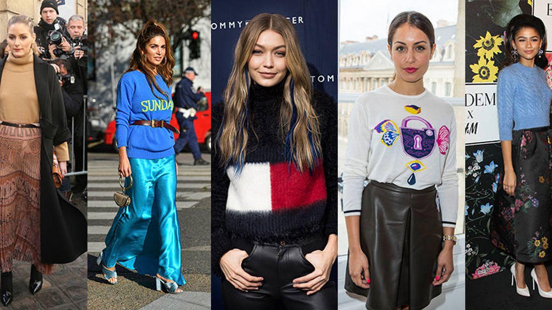 Gigi Hadid, Olivia Palermo y los jerséis de punto que no te quitarás en todo el invierno