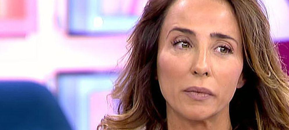 Foto: La presentadora de 'Sálvame Deluxe', María Patiño