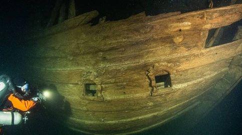 Hallan un barco holandés hundido de casi 400 años en el Mar Báltico