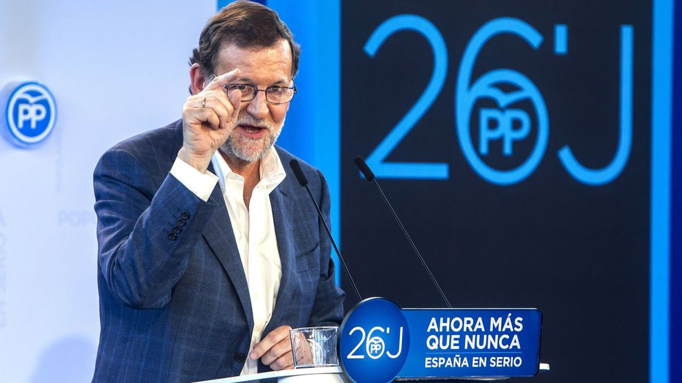 Foto: El presidente del Gobierno en funciones y candidato del PP a la reelección, Mariano Rajoy. (EFE)