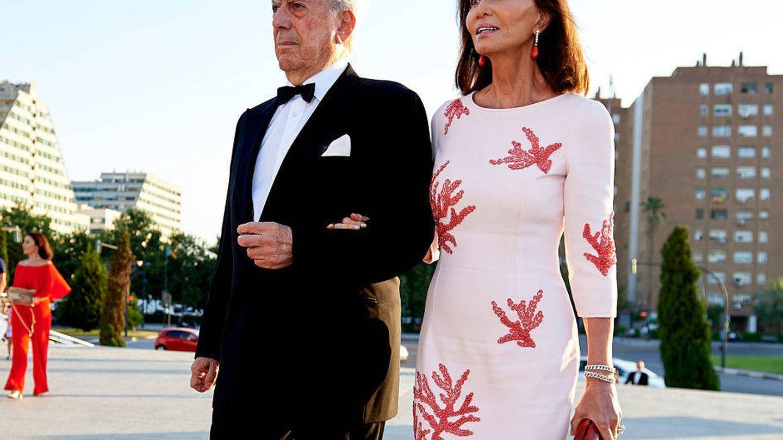 Isabel Preysler y Vargas Llosa. (Getty)