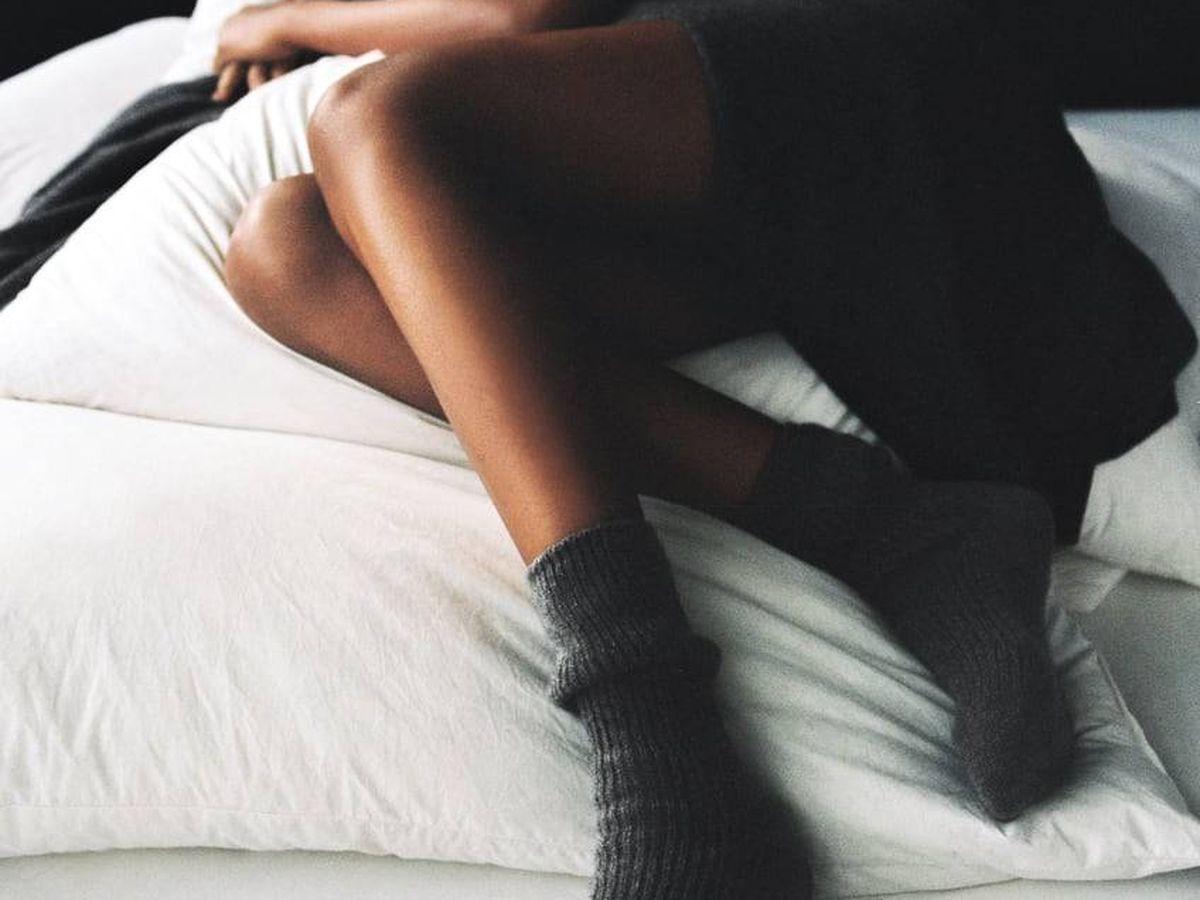 Foto: Calcetines de cachemira de Zara. (Cortesía)
