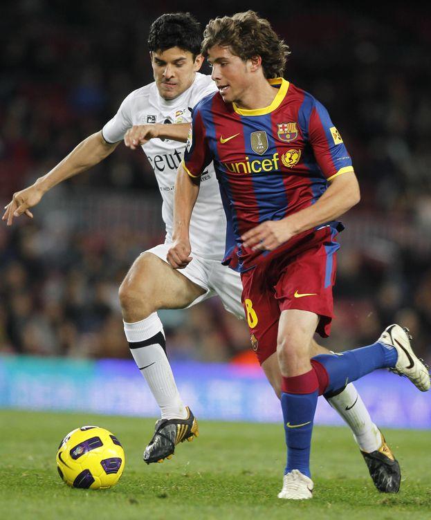 Foto: Debutó en un partido de Copa del Rey en 2010 (Cordon Press).