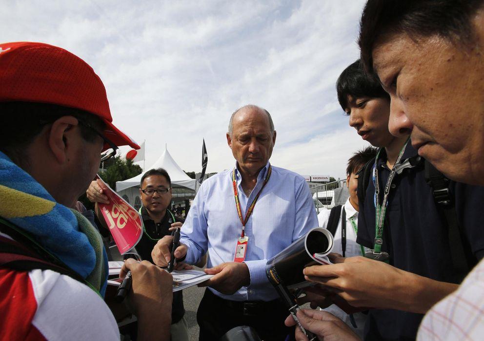 Foto: Ron Dennis, presidente ejecutivo de McLaren Automotive y McLaren Group.