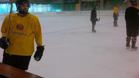 Tengo una granja avícola y juego en la selección española de hockey hielo