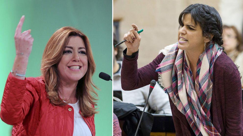 El cortijo apesta: la guerra entre Susana Díaz y Podemos toca techo