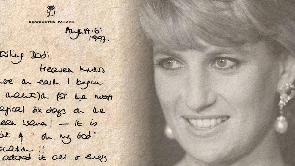 Los secretos de Diana de Gales ocultos en su escritura