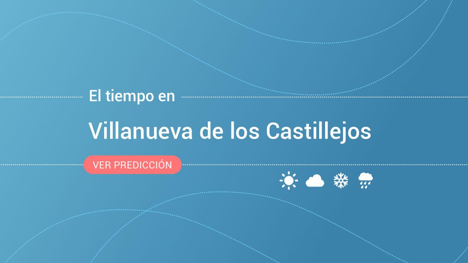 Foto: El tiempo en Villanueva de los Castillejos. (EC)