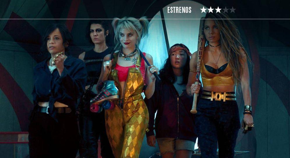 Foto: Margot Robbie vuelve a ser Harley Quinn en 'Aves de presa'. (Warner)
