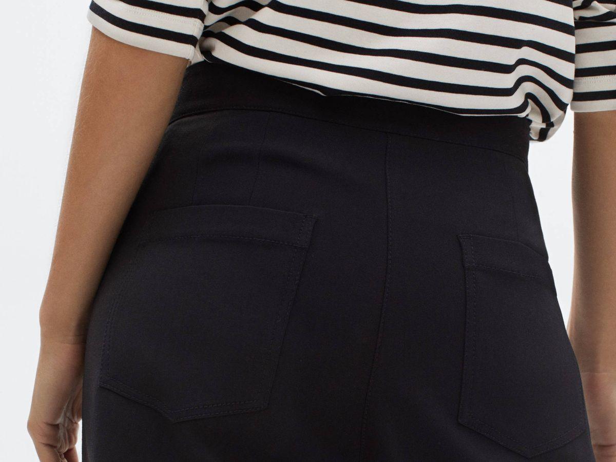 Foto: Pantalón ancho de Massimo Dutti. (Cortesía)