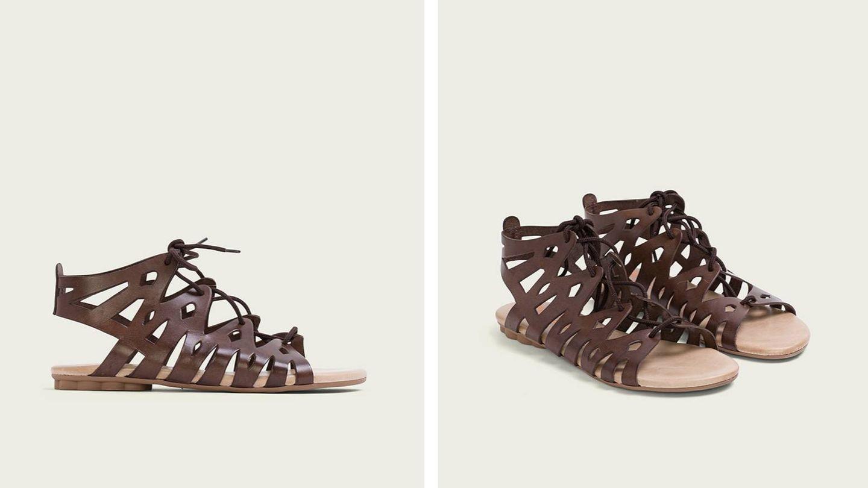 Sandalias romanas de Porronet. (Cortesía)