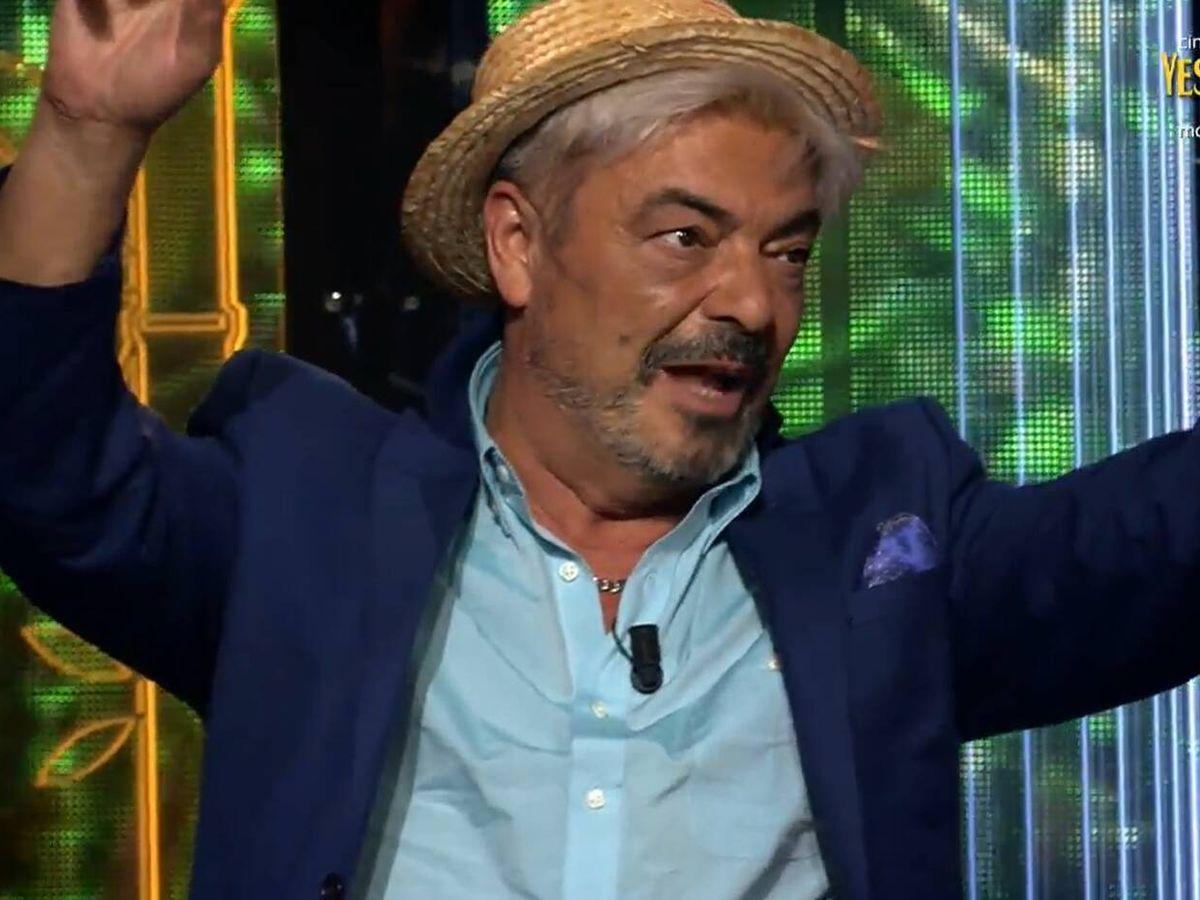 Foto: Antonio Canales, en 'Supervivientes'. (Mediaset)
