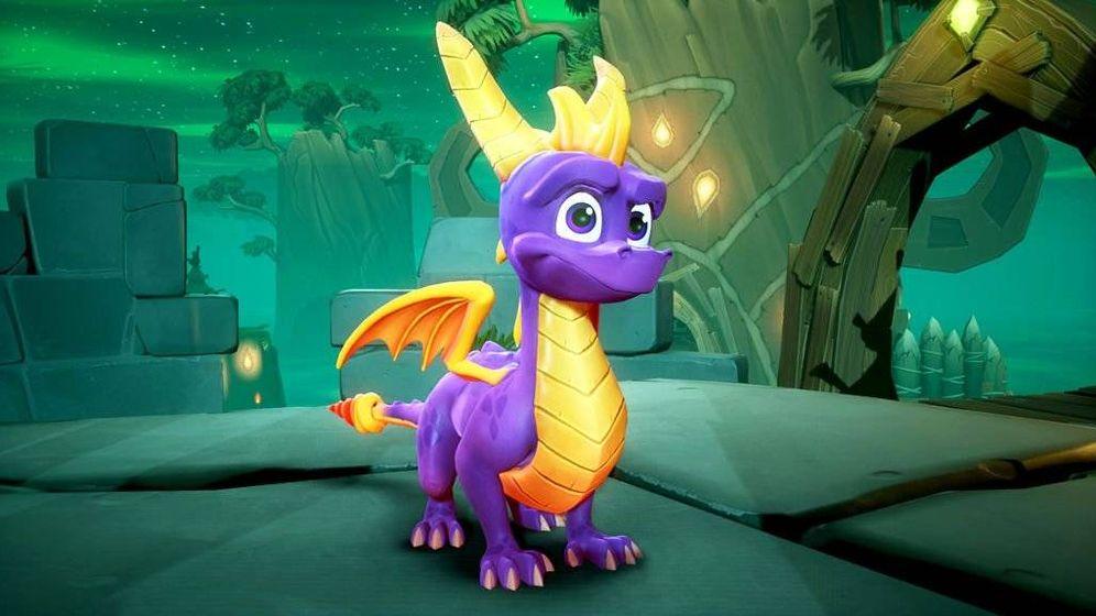 Videojuegos Spyro Vuelve La Trilogia Original Del Dragon Morado