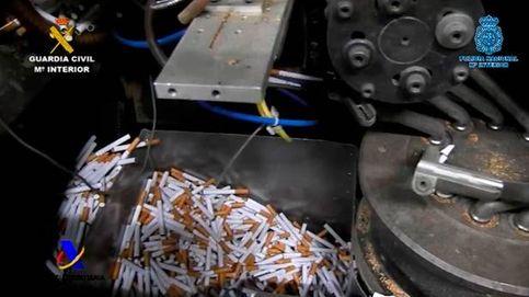 Clausuran tres fábricas ilegales de tabaco que podían producir 18.000 cigarros por minuto