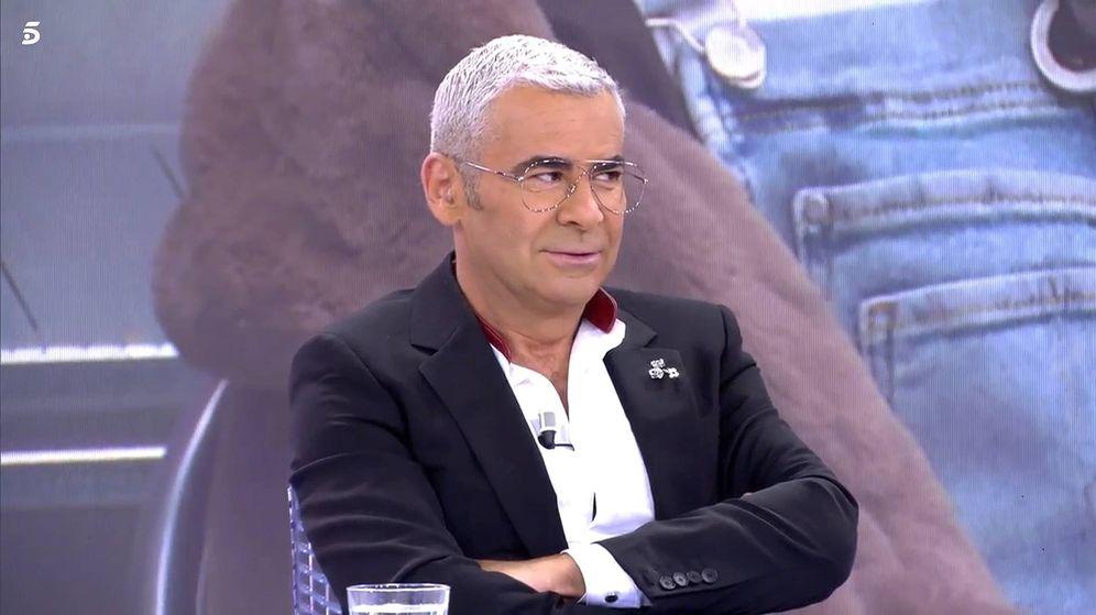Foto: Jorge Javier Vázquez, en 'Sábado Deluxe'. (Telecinco)